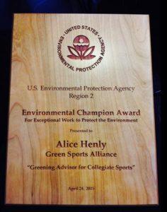 Alice-EPA Award