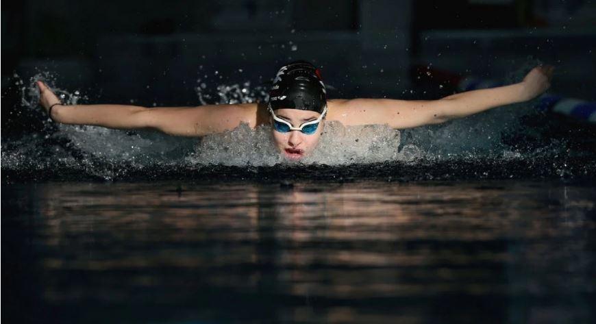 Syrian swimmer Yusra Mardini. (IOC/Getty Images)