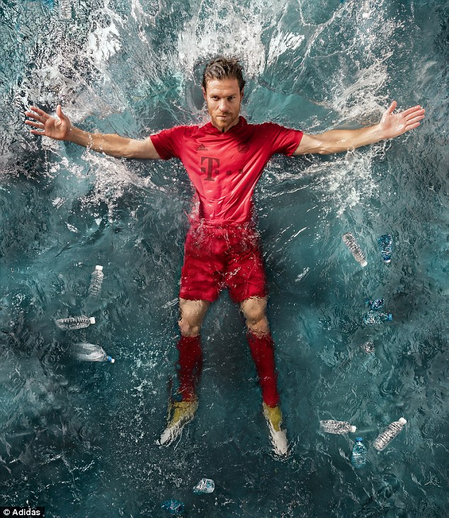 8c3d15506c0 Bayern Munich and Real Madrid will wear one-off kits made from recycled  plastic for