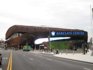 The Barclays Center opted for a variety of green features. Credit: Adam E. Moreira