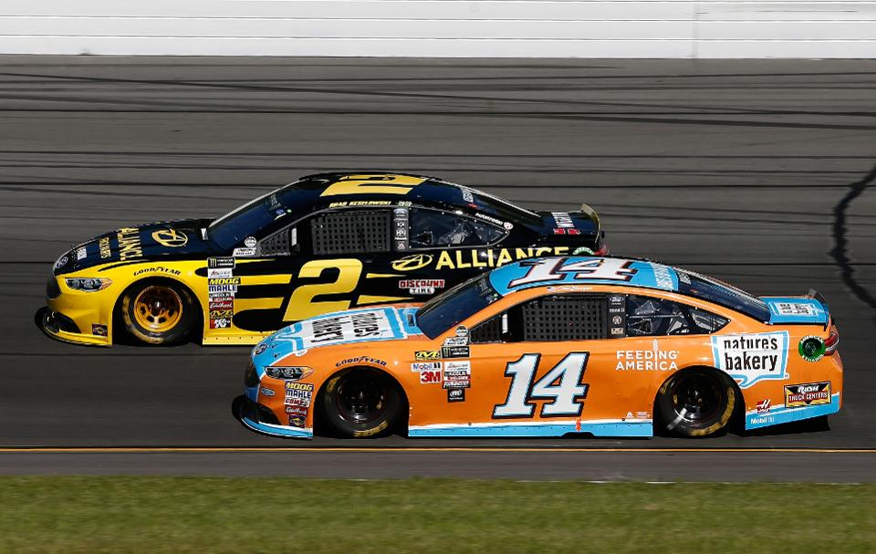 Nascar is going green (Photo by Jeff Zelevansky/Getty Images)