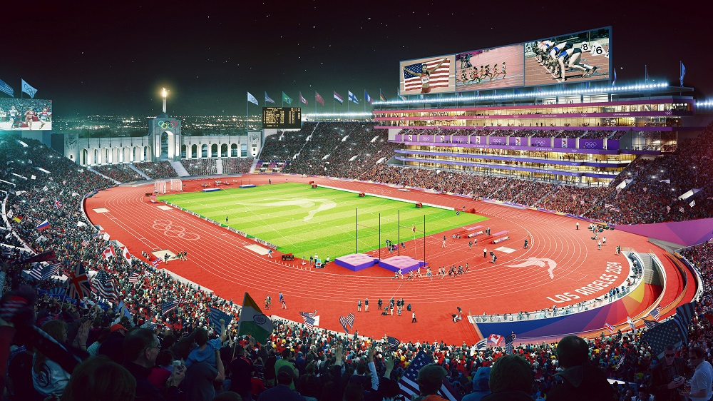 Photo/Rendering Credit: LA 2028 Organizing Committee