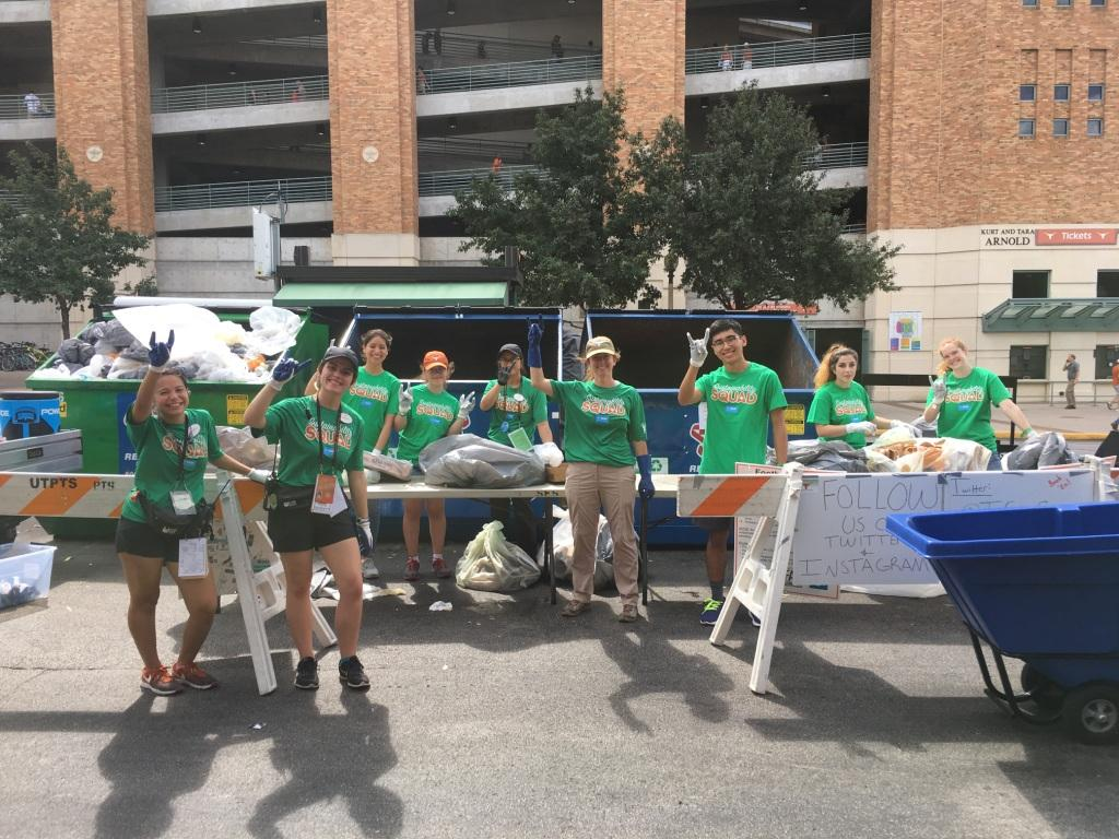 Sustainability Squad at The University of Texas at Austin