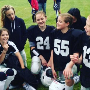 Photo courtesy of the Utah Girls Tackle Football League.