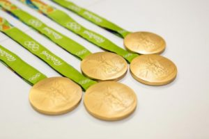 Medals for the Games will be manufactured out of recycled metal (Credit: Tokyo 2020)