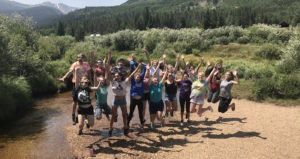CSU's Eco Leaders at a recent retreat at the Mountain Campus.