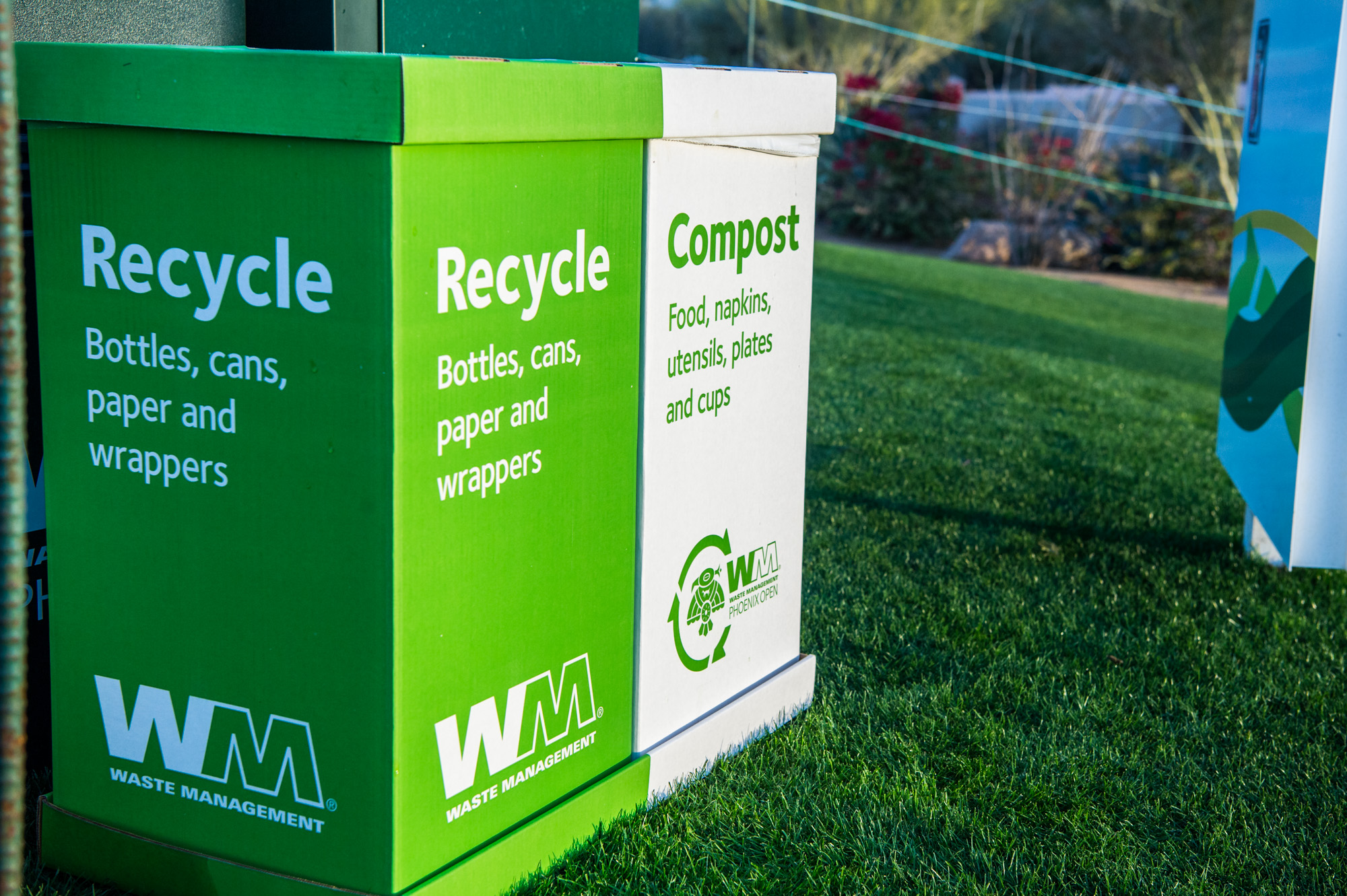 Compost and Recycle Bin